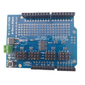 106309 Arduino 16 Chanel Pwm Shield Pca9685 Pt H1