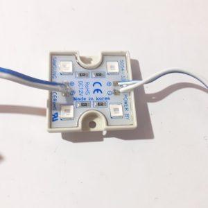 101592 Led Module 4 Led 5054 Xanh Duong H1