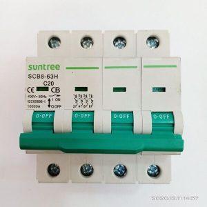 105565 Aptomat Mcb 4p 20a 10ka ( Suntree Scb84 20) Pt H1