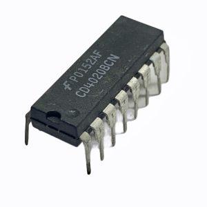 102444 Cd4020bcn Ic Counter 3v ~ 15v 16 Dip Pt1