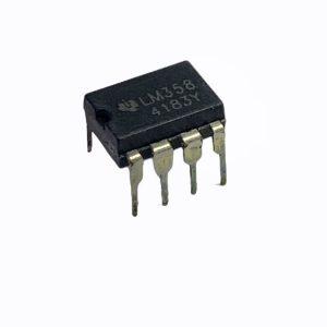 100250 Lm358p Dual Op Amp 16v (dip 8) Pt1