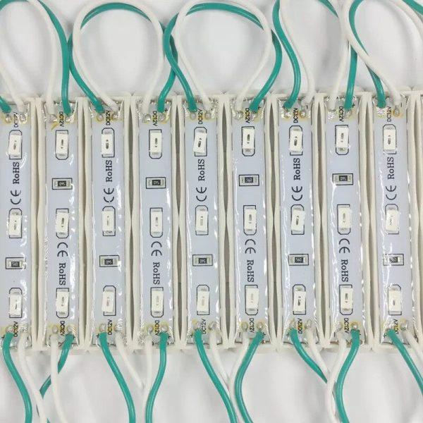 104036 Led Module 3 Led 5730 Mau Xanh La H2